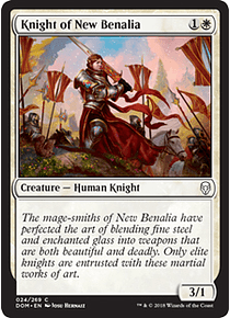 Knight of New Benalia - DOM