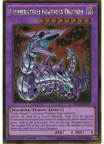 Chimeratech Fortress Dragon - PGL3-EN057 - Gold Rare