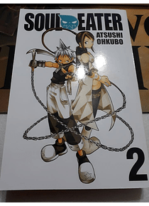 Manga - Soul Eater -2- Editorial Yen Press (Ingles)
