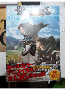 Anime Artbook - Attack on Titan  Anime Ilustrations (Japones)