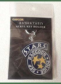 Llavero Acrilico - S.T.A.R.S Resident Evil - Importado Japones
