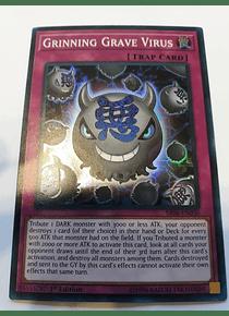Grinning Grave Virus - SR06-EN030 - Super Rare