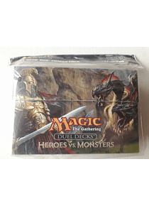 Duel Deck Box combo Pack Ultra Pro - Heroes Vs Monsters