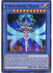 Cyber Angel Vrash - INOV-EN036 - Super Rare