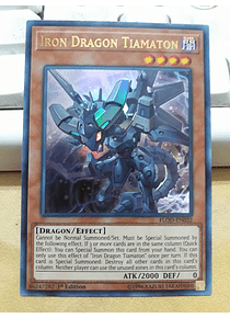 Iron Dragon Tiamaton - FLOD-EN032 - Ultra Rare