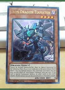 Iron Dragon Tiamaton - FLOD-EN032 - Ultra Rare