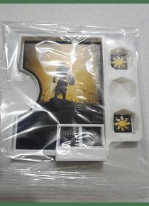 Porta Commander PVC MTG  -Blanco Gideon