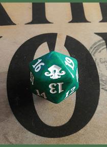 Dado Contador de vida - Verde - Eldritch Moon