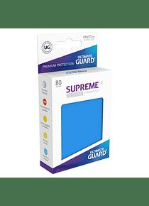 Supreme UX Sleeves - (Azul Ultramar) Standard Size (80)