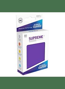Supreme UX Sleeves - (Violeta) Standard Size (80)