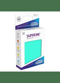 Supreme UX Sleeves - (Turquesa) Standard Size (80)