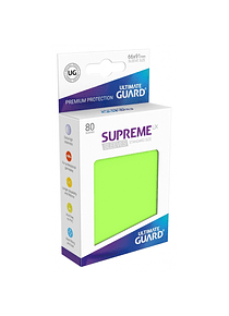 Supreme UX Sleeves - (Verde Claro) Standard Size (80)