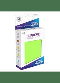 Supreme UX Sleeves - (Verde Claro) Standard Size (80)