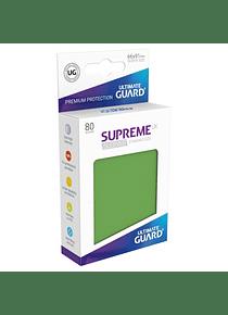 Supreme UX Sleeves - (Verde Olivo) Standard Size (80)