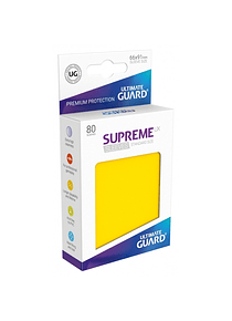 Supreme UX Sleeves - (Amarillo) Standard Size (80)