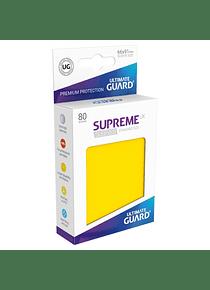 Supreme UX Sleeves - (Amarillo) Standard Size (80)