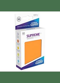 Supreme UX Sleeves - (Naranja) Standard Size (80)