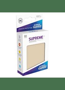 Supreme UX Sleeves - (Beige) Standard Size (80)