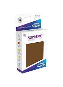 Supreme UX Sleeves - (Marron) Standard Size (80)