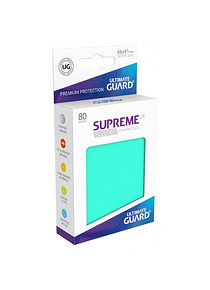 Supreme UX Sleeves - (Aguamarina) Standard Size (80)