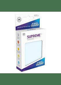 Supreme UX Sleeves - (Transparentes) Standard Size (80)