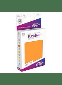 Supreme UX Matte Sleeves (Naranja) Japanese Size