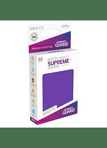 Supreme UX Sleeves Matte (Morado) Japanese Size