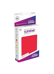 Supreme UX Sleeves  Matte (Rojo) Japanese Size