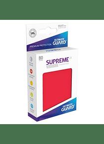 Supreme UX Sleeves - (Rojo) Standard Size (80)
