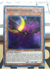 Vampire Familiar - DASA-EN001 - Super Rare
