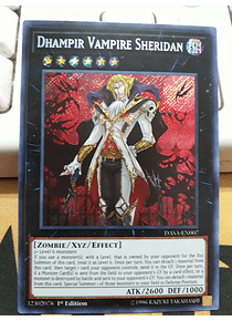 Dhampir Vampire Sheridan - DASA-EN007 - Secret Rare