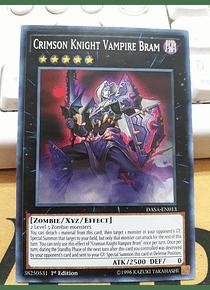 Crimson Knight Vampire Bram - DASA-EN013 - Super Rare