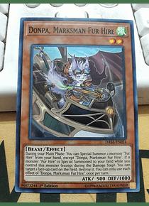Donpa, Marksman Fur Hire - DASA-EN014 - Super Rare