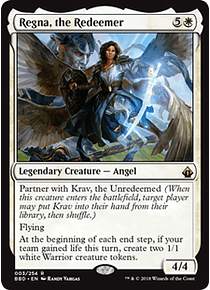 Regna, the Redeemer - BBD - R