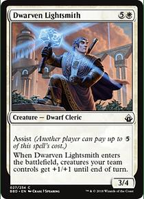 Dwarven Lightsmith - BBD - C