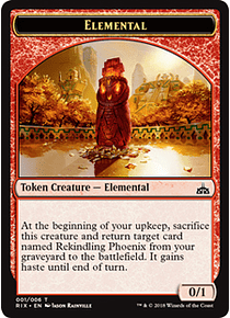 Elemental Token - RIX