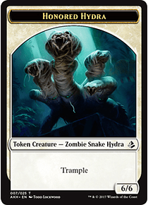 Honored Hydra Token - AKH