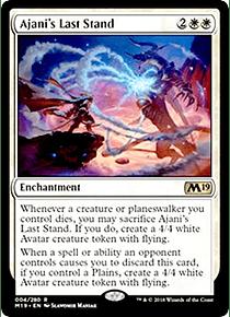 Ajani's Last Stand - M19 - R