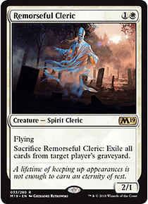 Remorseful Cleric - M19 - R