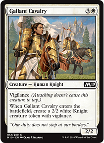 Gallant Cavalry - M19