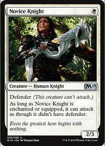 Novice Knight - M19 - U