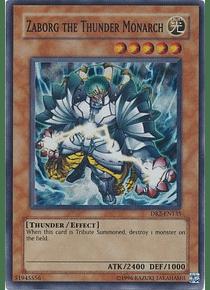 Zaborg the Thunder Monarch - DR2-EN135 - Super Rare (Desgastado)