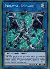 Firewall Dragon - COTD-EN043 - Secret Rare