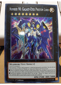 Number 90: Galaxy-Eyes Photon Lord - BLRR-EN033 - Secret Rare