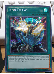 Iron Draw - BLRR-EN034 - Secret Rare