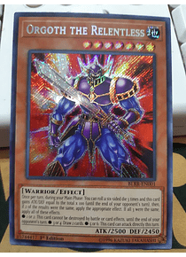 Orgoth the Relentless - BLRR-EN001 - Secret Rare
