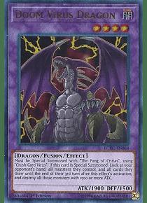 Doom Virus Dragon - LCKC-EN064 - Ultra Rare (español)