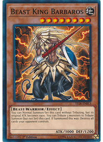 Beast King Barbaros - YS18-EN013 - Common