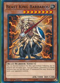 Beast King Barbaros - YS18-EN013 - Common