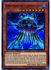 Umbramirage the Elemental Lord - CYHO-EN019 - Super Rare